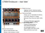 c7000 enclosure rear view