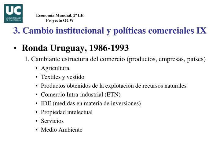 Ronda Uruguay, 1986-1993