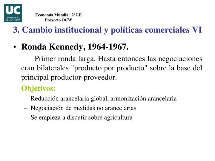 Ronda Kennedy, 1964-1967.