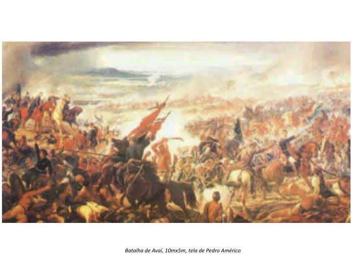 Batalha de Avaí, 10mx5m, tela de Pedro Américo
