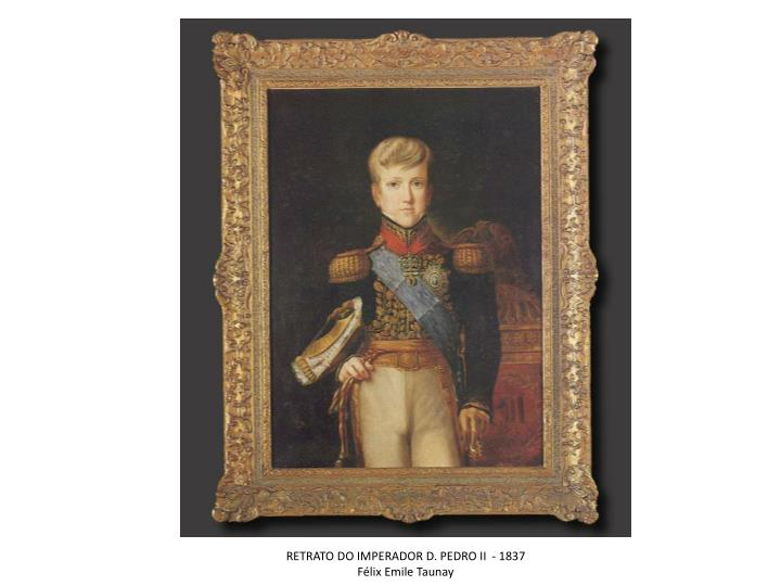 RETRATO DO IMPERADOR D. PEDRO II  - 1837
