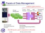 facets of data management