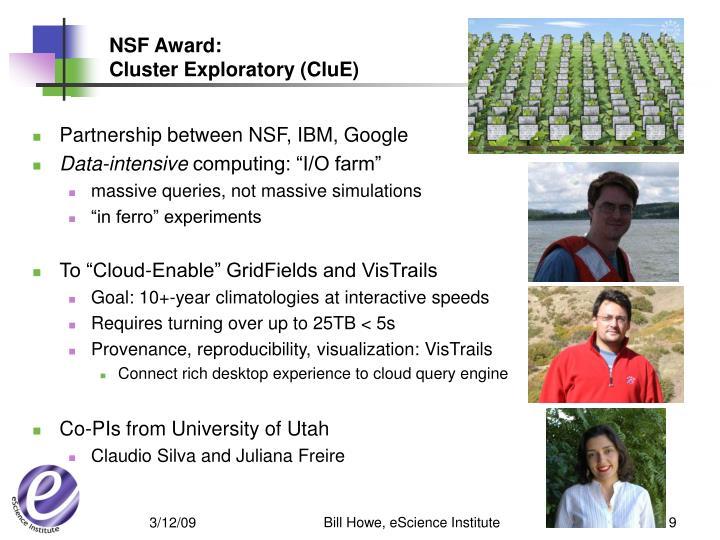 NSF Award:
