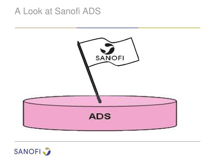 A Look at Sanofi ADS