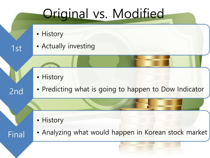 Original vs. Modified