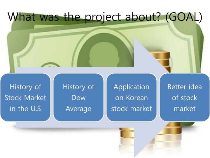 What was the project about goal