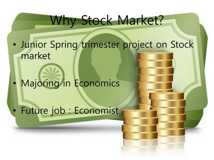 Why Stock Market?