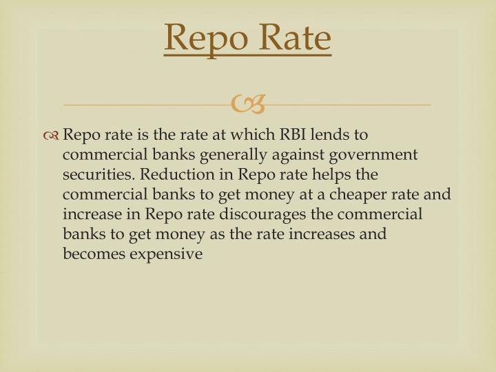 Repo Rate