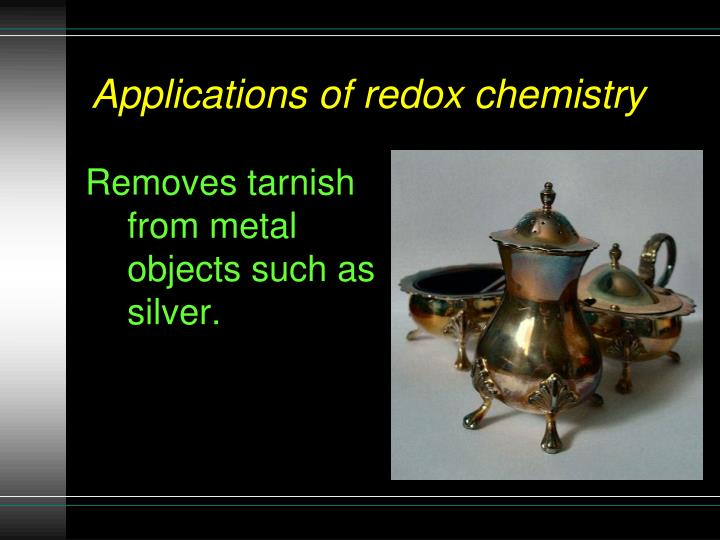 Removes tarnish from metal objects such as silver.