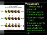 polyatomic