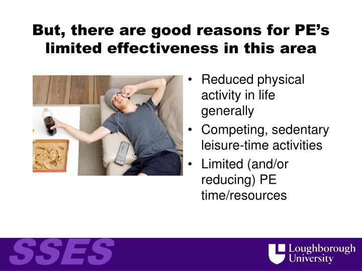 But, there are good reasons for PE's limited effectiveness in this area