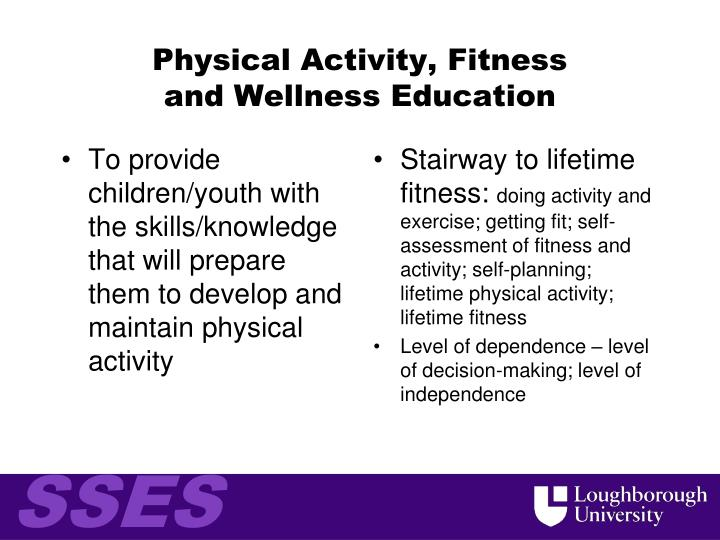 Physical Activity, Fitness