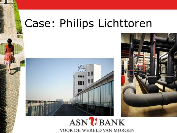 Case: Philips Lichttoren