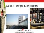 case philips lichttoren