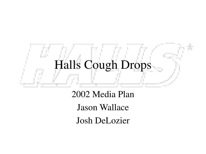 Halls cough drops
