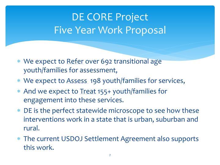 DE CORE Project