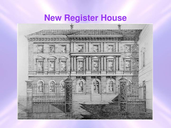 New register house