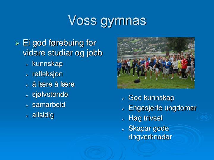 Voss gymnas