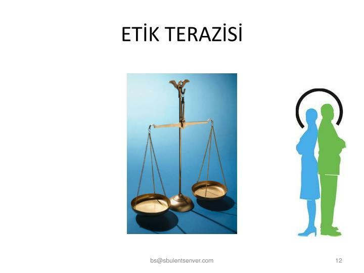 ETİK TERAZİSİ