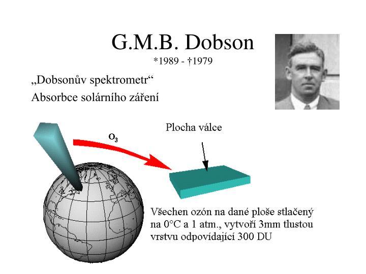 G.M.B. Dobson