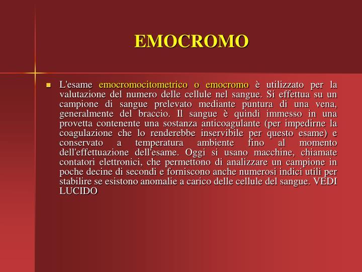 EMOCROMO