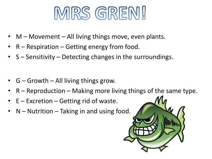 MRS GREN!