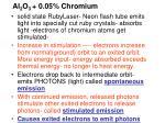 al 2 o 3 0 05 chromium