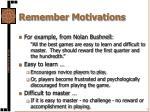 remember motivations1