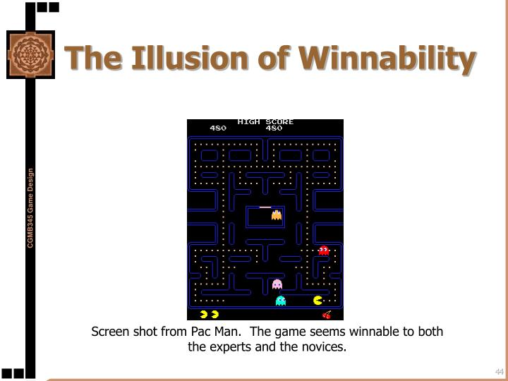 The Illusion of Winnability