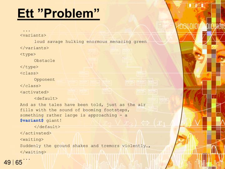 "Ett ""Problem"""