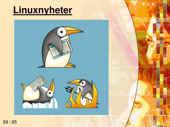 Linuxnyheter