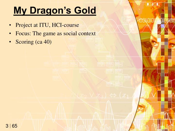 My dragon s gold