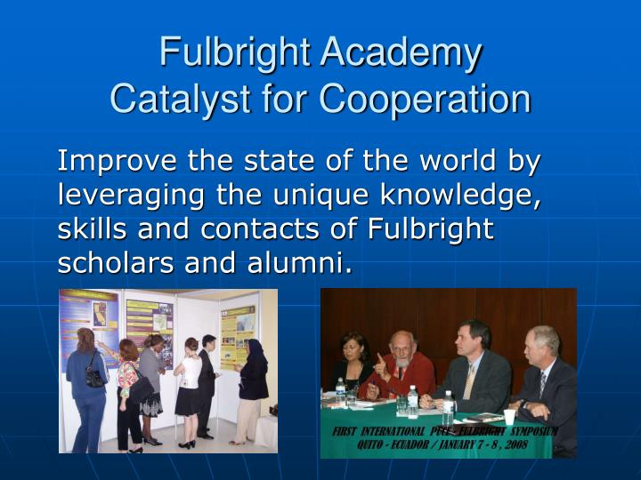 Fulbright Academy