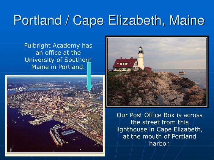 Portland / Cape Elizabeth, Maine