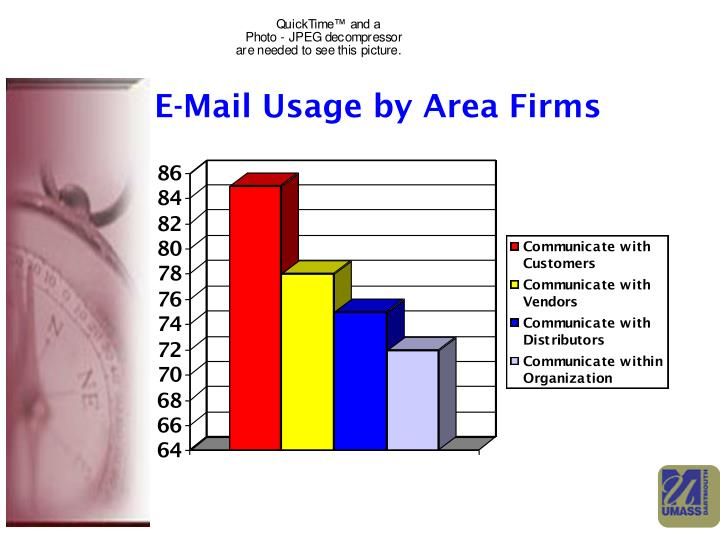 E-Mail Usage by Area Firms