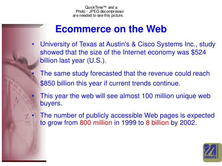 Ecommerce on the Web
