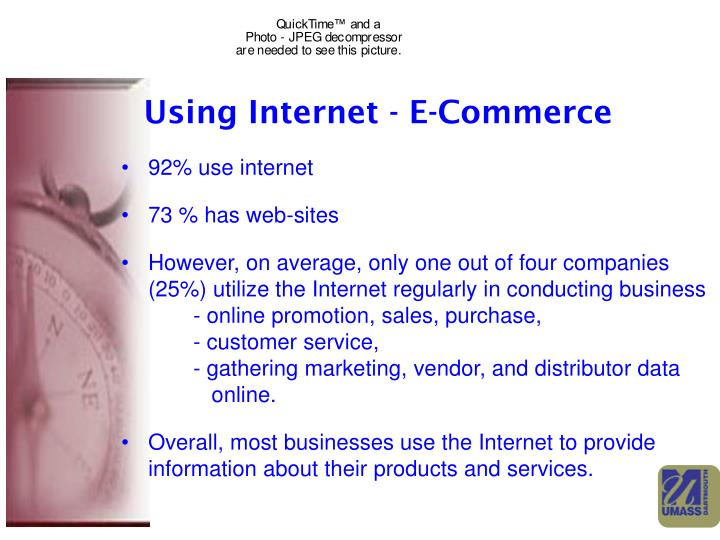 Using Internet - E-Commerce