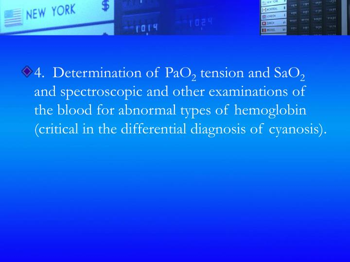 4.  Determination of PaO