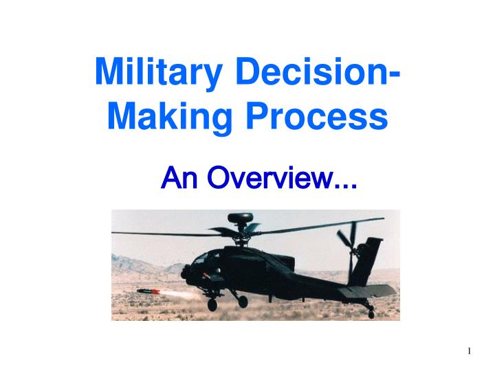 mdmp overview 101 briefing slides Us army financial management school overview 10 financial management school contemporary operating environment ssi cascom  -- fm opord development/mdmp.