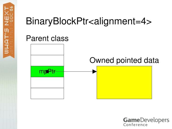 BinaryBlockPtr<alignment=4>