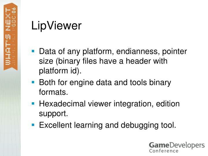 LipViewer