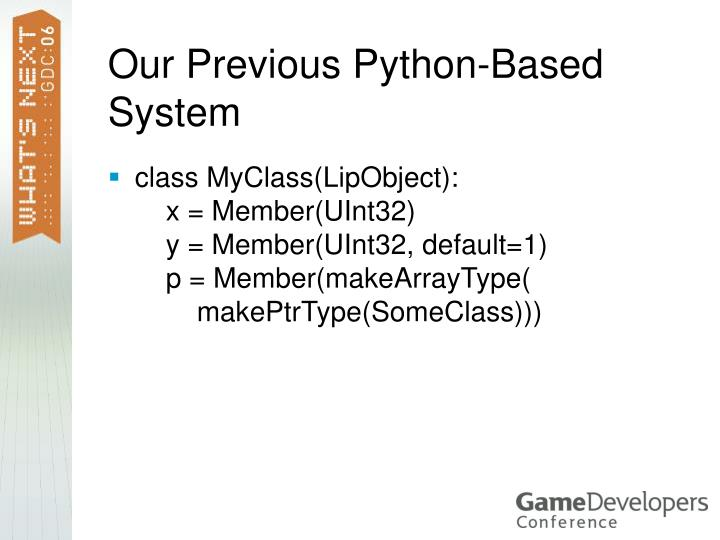 Our Previous Python-Based System