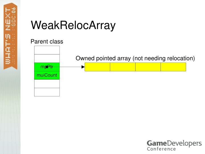 WeakRelocArray