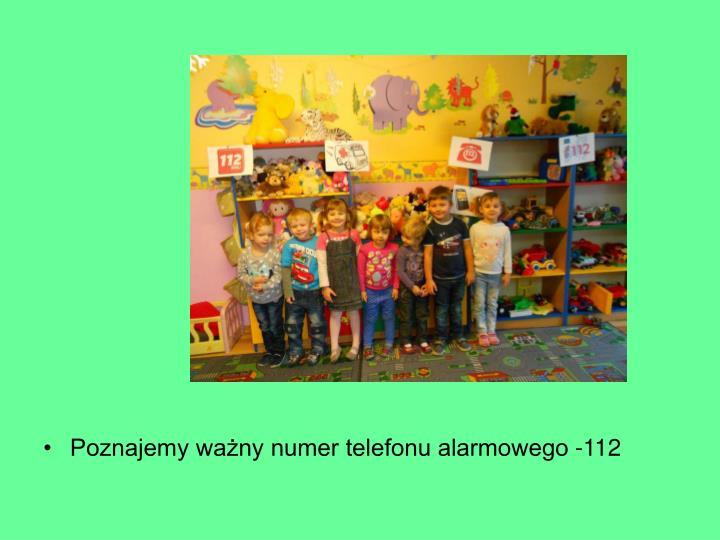 Poznajemy ważny numer telefonu alarmowego -112