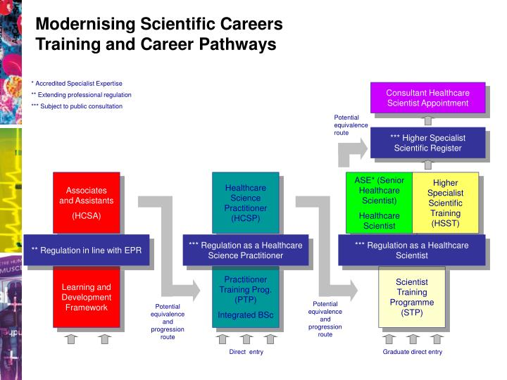Modernising Scientific Careers  Training and Career Pathways