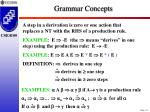 grammar concepts