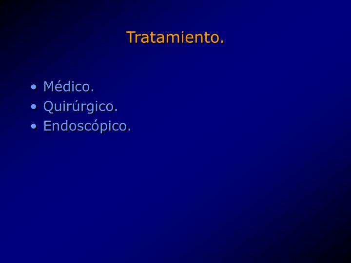 Tratamiento.
