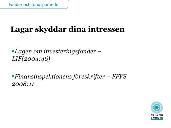 Lagen om investeringsfonder – LIF(2004:46)
