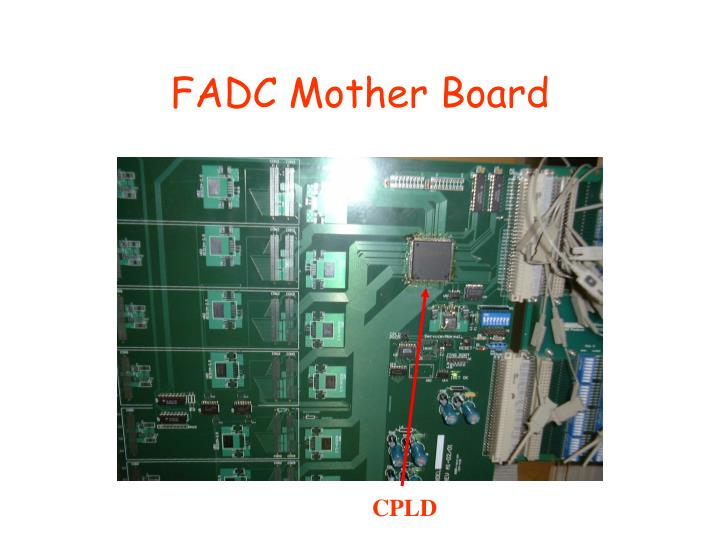 FADC Mother Board