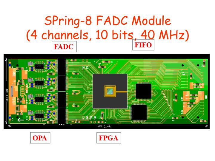 SPring-8 FADC Module